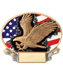 Eagle Plaque | Laserworx Custom Engraving