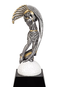 Golf Women Trophy | Laserworx Custom Engraving