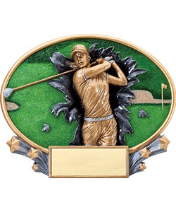 Golf Plaque Women | Laserworx Custom Engraving