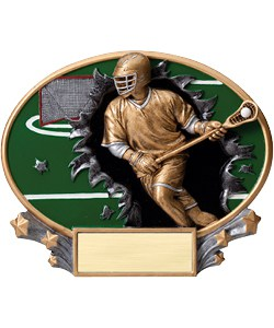 Lacrosse Plaque Male | Laserworx Custom Engraving