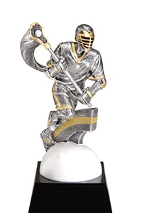 Male Lacrosse Trophy | Laserworx Custom Engraving