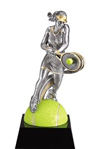 Tennis Female Trophy | Laserworx Custom Engraving