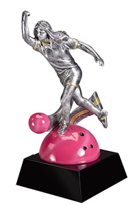 Women Bowling Trophy | Laserworx Custom Engraving