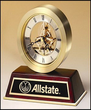 Engraved Desk Clock | Laserworx Custom Engraving Pottstown