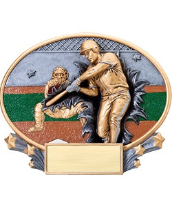 Baseball Plaque | Laserworx Custom Engraving