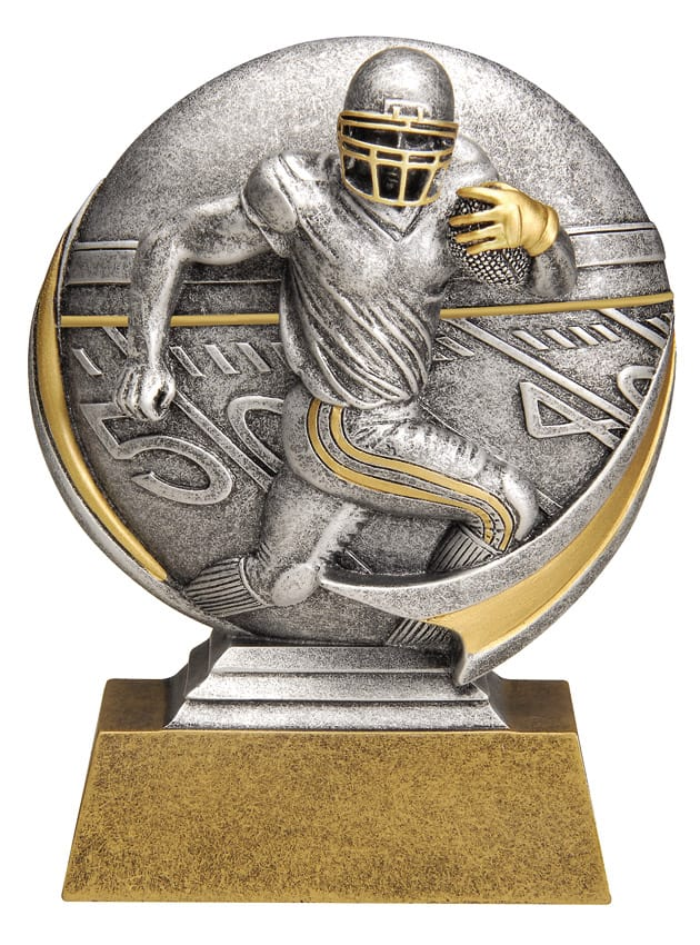 Football Resin Sculpture | Laserworx Custom Engraving