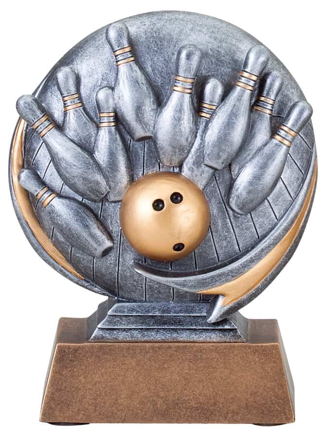 Bowling Resin Sculpture | Laserworx Custom Engraving