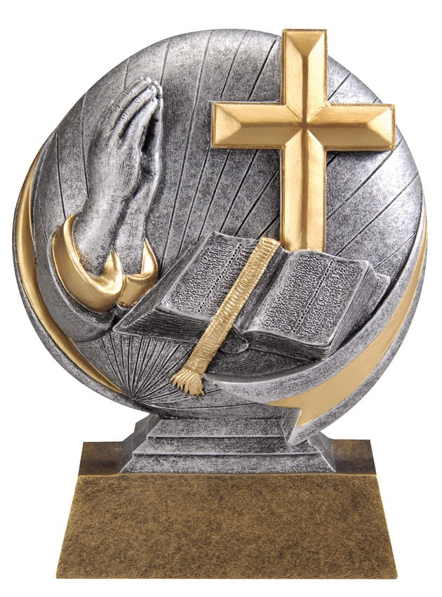Religion Resin Sculpture | Laserworx Custom Engraving