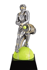 Tennis Male Trophy | Laserworx Custom Engraving