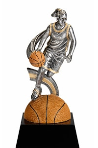Women Basketball Trophy | Laserworx Custom Engraving