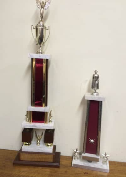 Refurbished Trophies | Laserworx Custom Engraving Pottstown